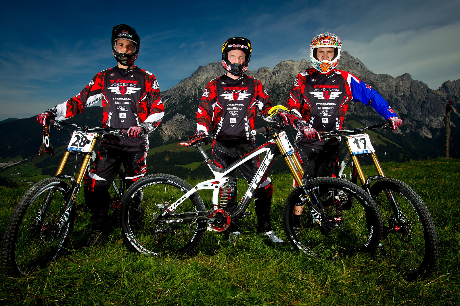 Trek World Racing at World Champs - World Championships Riders and Bikes - Mountain Biking Pictures - Vital MTB