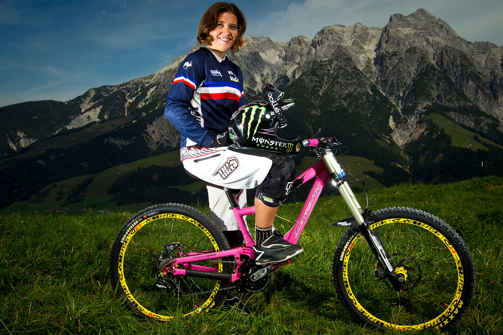 Sabrina Jonnier with her Labyrinth - World Championships Riders and Bikes - Mountain Biking Pictures - Vital MTB