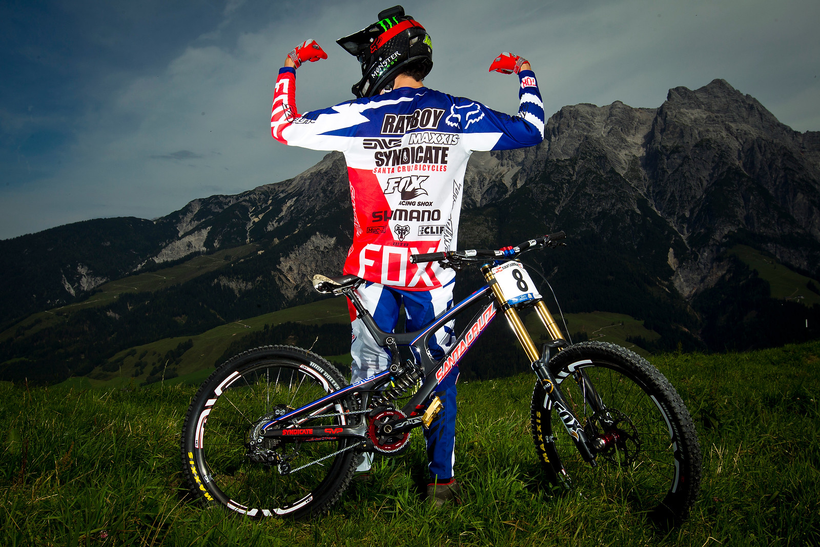 Ratboy from the Back - World Championships Riders and Bikes - Mountain Biking Pictures - Vital MTB