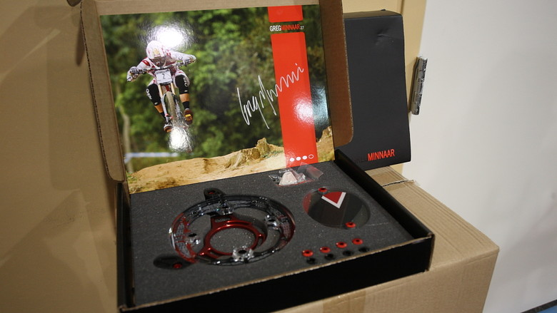 Limited Edition Signature Greg Minnaar Gamut P30 Chainguide - 2013 Products from Interbike 2012, Part 1 - Mountain Biking Pictures - Vital MTB
