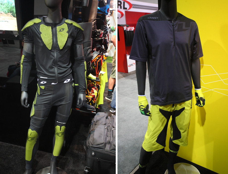 ONE Industries EXO first layer armor and Alliance Jersey and Short - 2013 Products from Interbike 2012, Part 1 - Mountain Biking Pictures - Vital MTB