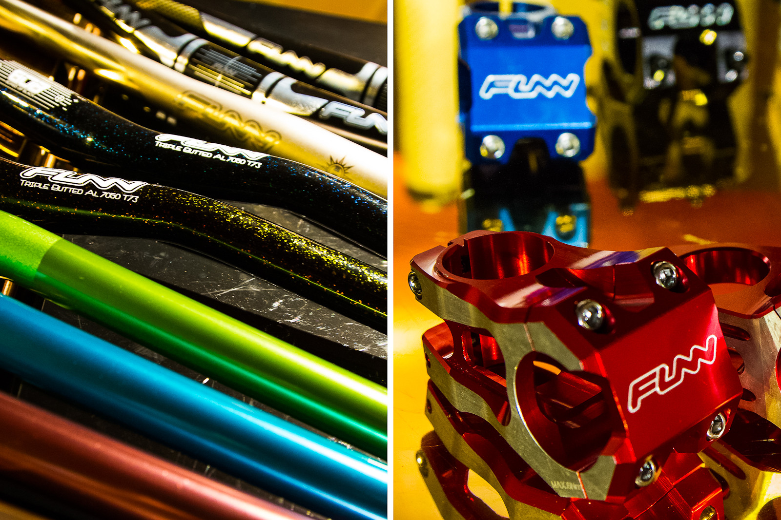 New FUNN Bars and Stems - 2013 and 2014 Products from Taichung Bike Week - Mountain Biking Pictures - Vital MTB