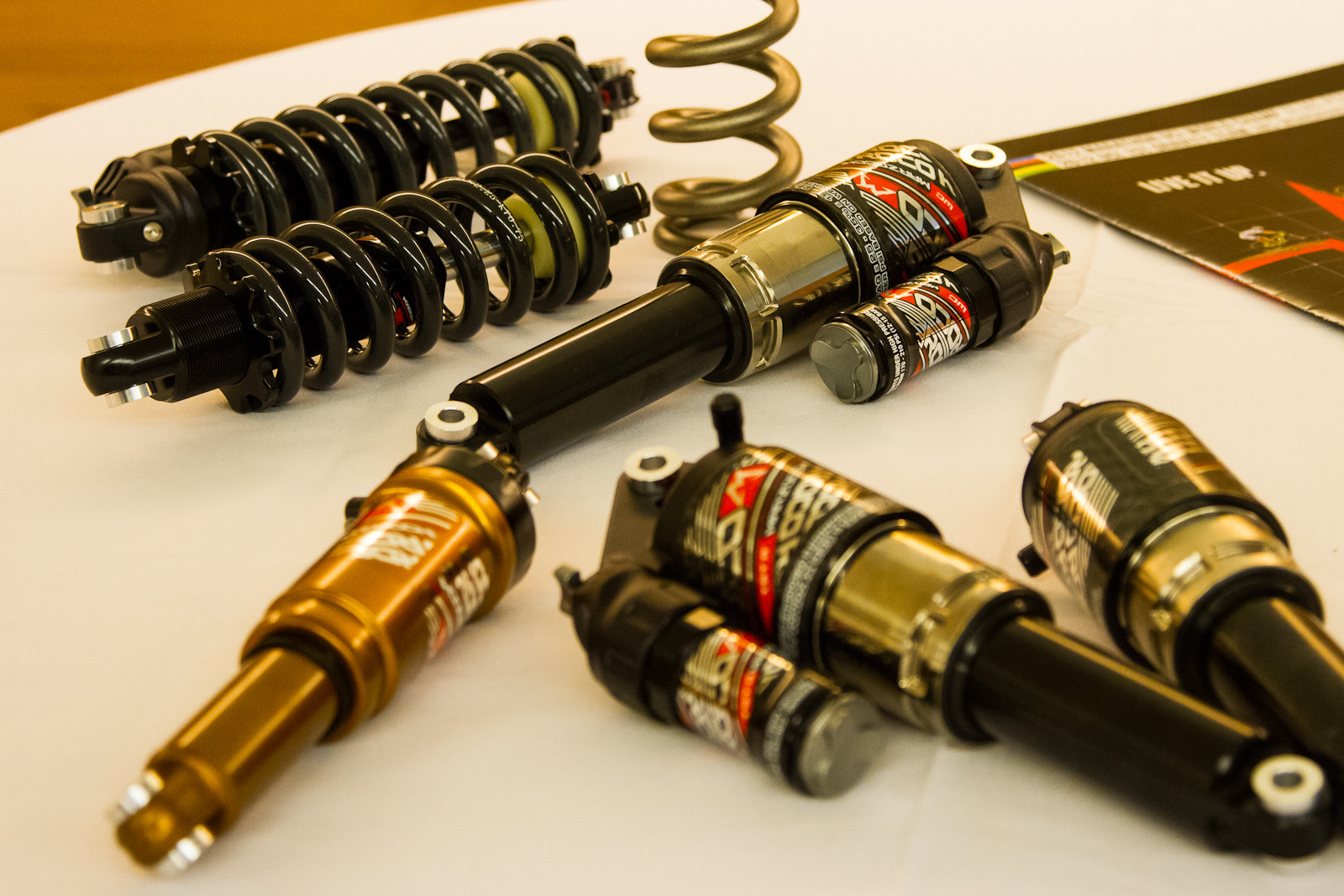 2013 and 2014 Marzocchi Rear Shocks - 2013 and 2014 Products from Taichung Bike Week - Mountain Biking Pictures - Vital MTB