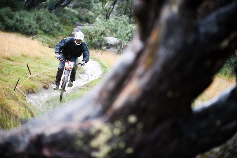 Ben Cory, Thredbo winner - 2010 Australian National Round, Thredbo - Mountain Biking Pictures - Vital MTB