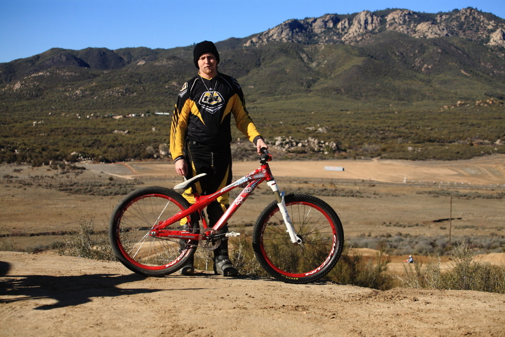 JD with his Most-traveled Bike - Vital MTB Motocross Day 2013 - Mountain Biking Pictures - Vital MTB