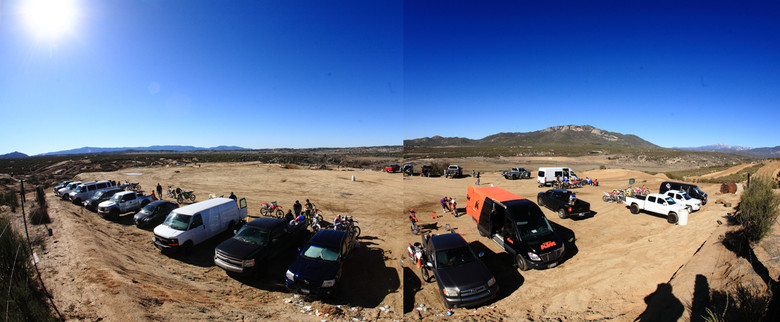 Blues Skies and Solid Turnout for Vital MTB Motocross Day 2013 - Vital MTB Motocross Day 2013 - Mountain Biking Pictures - Vital MTB