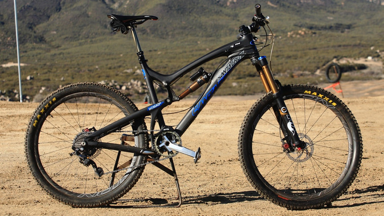 Santa Cruz Nomad Carbon with Prototype Fox Suspension - Santa Cruz Nomad Carbon with Prototype Fox Suspension - Mountain Biking Pictures - Vital MTB