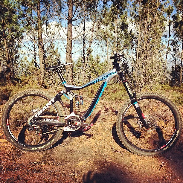 Andrew Neethling's 2013 Giant Glory Race Bike - sspomer - Mountain Biking Pictures - Vital MTB