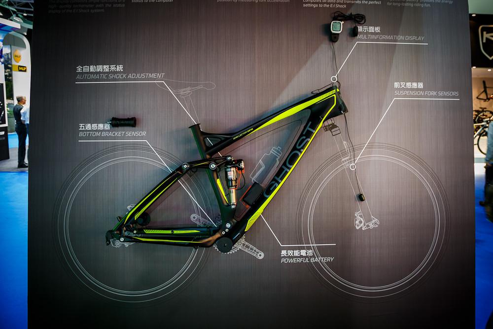 2013 Taipei Bike Show Day 2 - RockShox Electronic Intelligence Suspension - 2013 Taipei Bike Show Day 2 - Spank, Cane Creek, Polygon, Commencal and More - Mountain Biking Pictures - Vital MTB