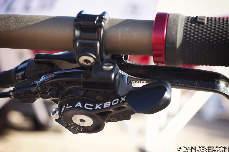 Gwin Gets the BlackBox Treatment - Aaron Gwin's 2013 Specialized S-Works Demo 8 Race Bike - Mountain Biking Pictures - Vital MTB