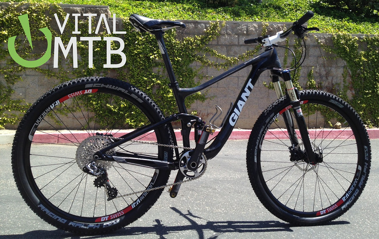 Prototype Giant 650b Carbon Trail Bike! - sspomer - Mountain Biking Pictures - Vital MTB