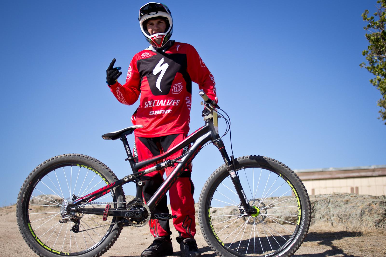 Mitc Ropelato's 2014 Specialized Enduro SX Slalom Bike - 2013 Sea Otter Pro Slalom Bikes - Mountain Biking Pictures - Vital MTB