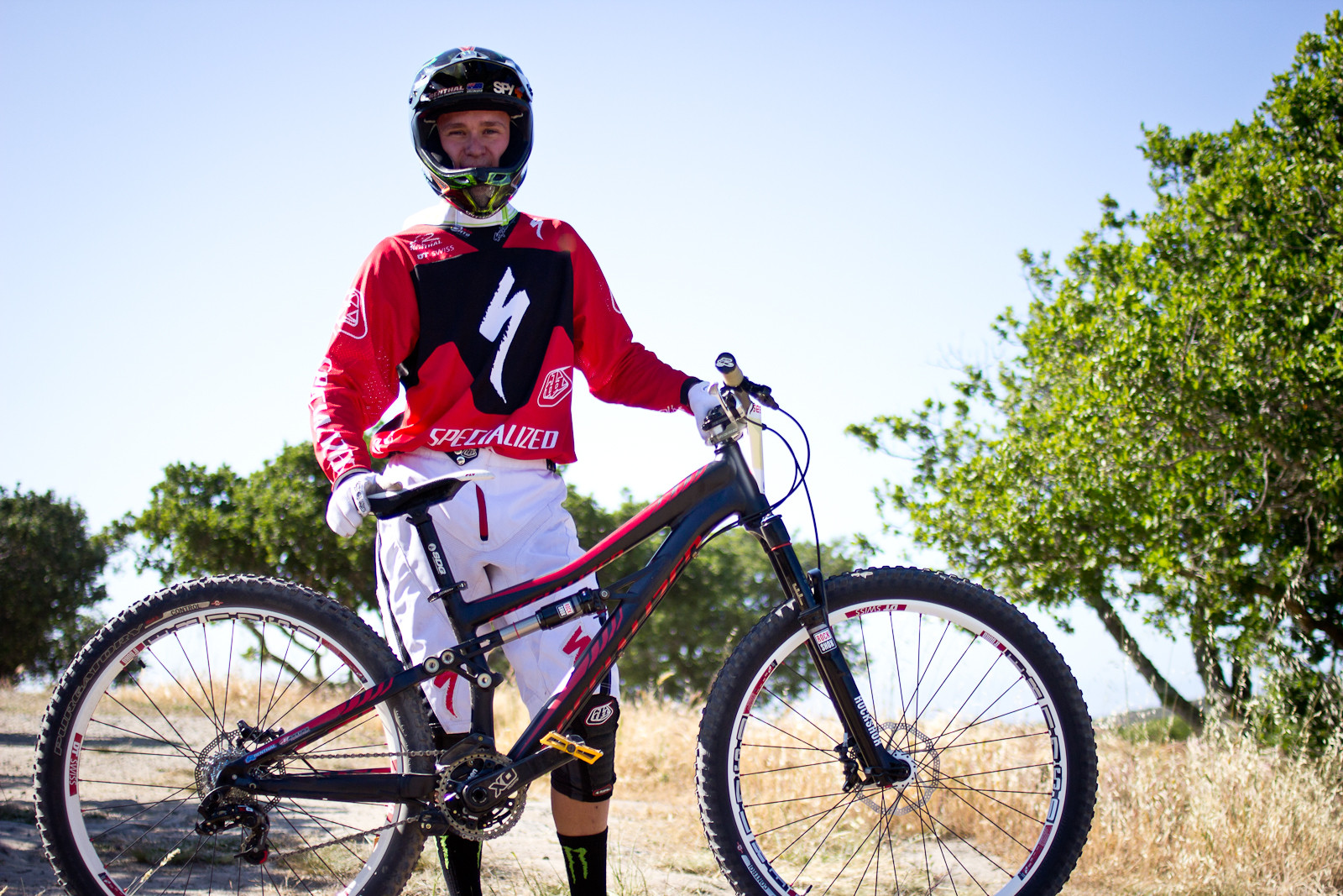 Troy Brosnan's 2014 Specialized Enduro SX Slalom Bike - 2013 Sea Otter Pro Slalom Bikes - Mountain Biking Pictures - Vital MTB