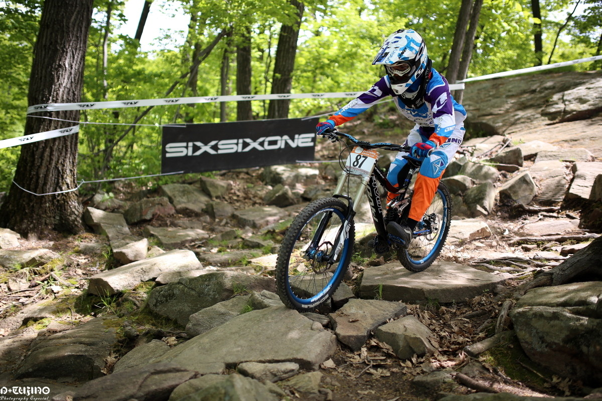 Mountain Creek's Infamous Rock Garden - Spring Classic ProGRT from Mountain Creek - Mountain Biking Pictures - Vital MTB