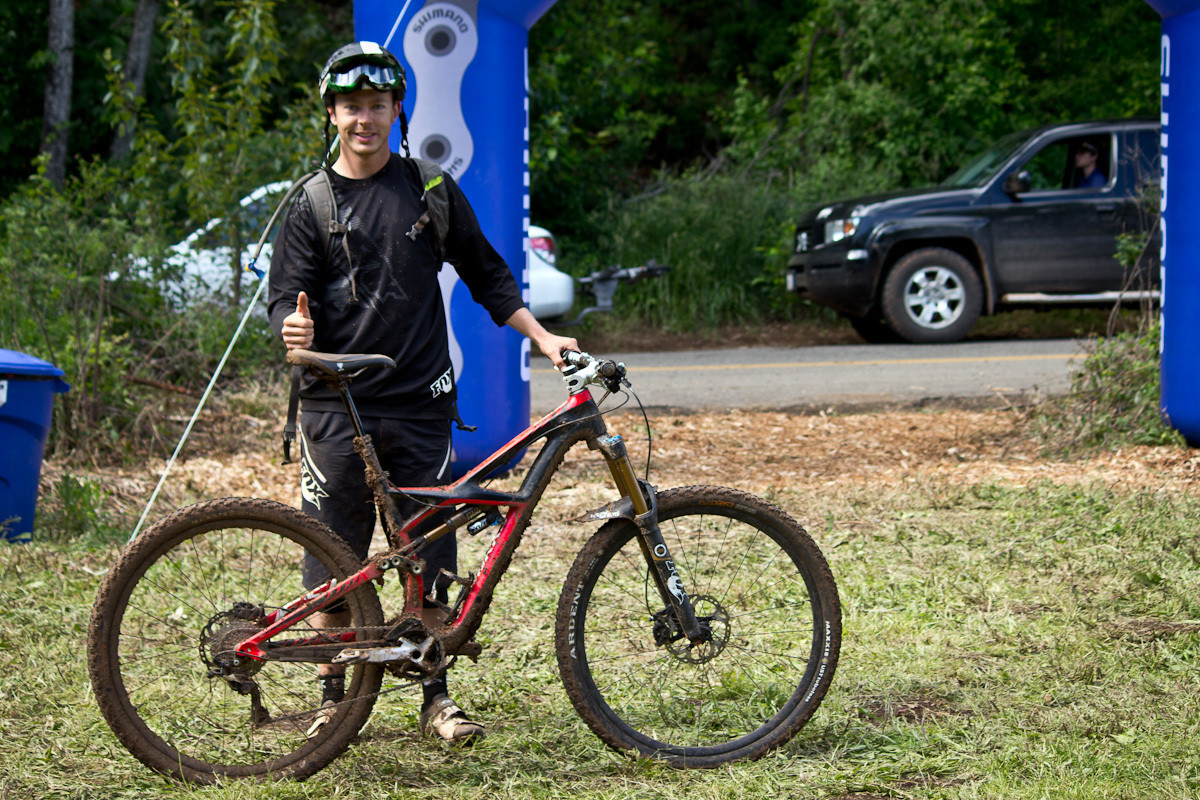 Pro Bikes from Hood River Oregon Enduro - Scott Papola's Specialized S-Works Enduro 29 SE - Pro Bike Checks: 2013 North American Enduro Tour Hood River Oregon Photo Gallery 1 - Mountain Biking Pictures - Vital MTB