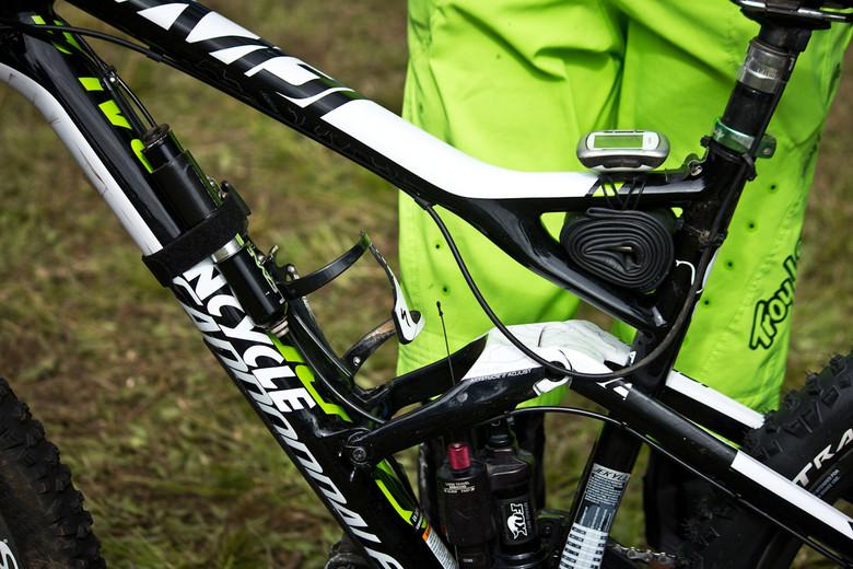 Stash Holes on Jon Buckell's Cannondale Jekyll Carbon 1  - Even More Enduro Bikes from 2013 Hood River Oregon Enduro - Mountain Biking Pictures - Vital MTB