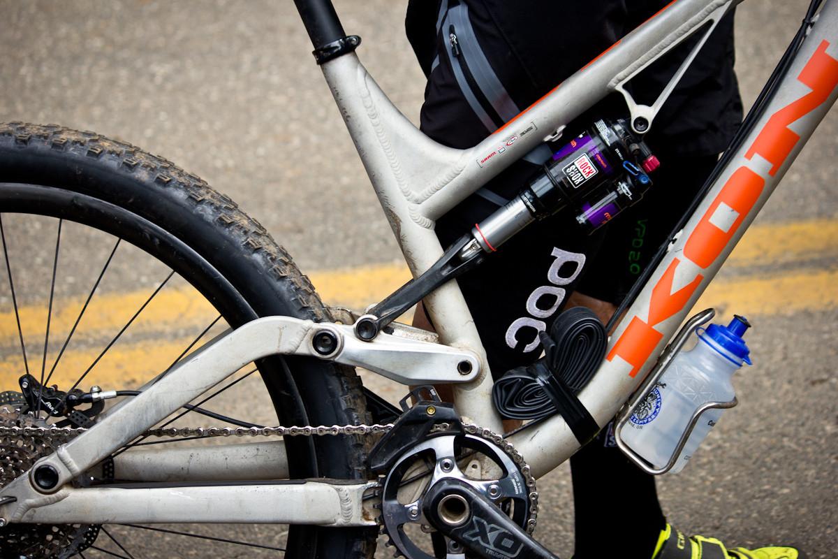 Pro Enduro Bikes: Matt Slaven's Kona Prototype - Even More Enduro Bikes from 2013 Hood River Oregon Enduro - Mountain Biking Pictures - Vital MTB