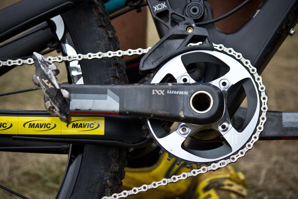38t SRAM XX1 on Nate Hills's Yeti SB66 Carbon   - Even More Enduro Bikes from 2013 Hood River Oregon Enduro - Mountain Biking Pictures - Vital MTB