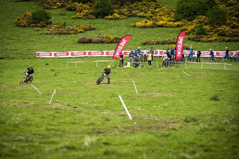 Sven Martin's Scottish Adventure Photo Gallery - Sven Racing Tweedlove Dual Slalom - Sven Martin's Scottish Adventure - Innerleithen and Tweedlove Dual Slalom - Mountain Biking Pictures - Vital MTB