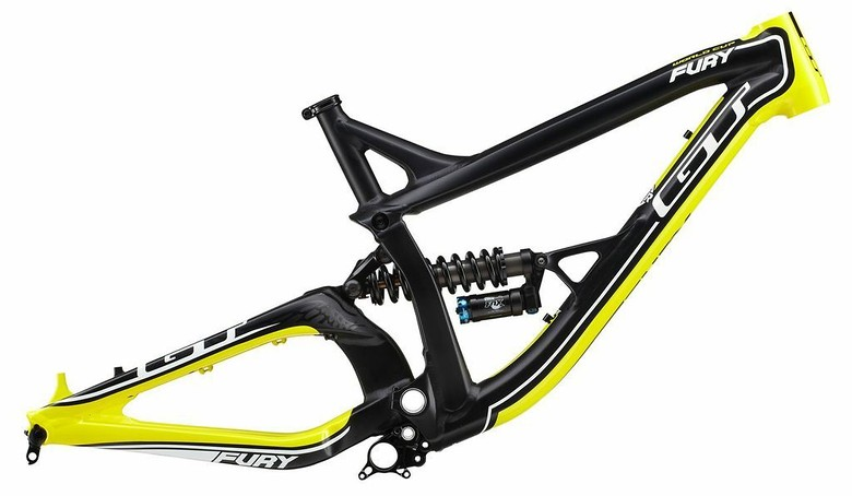 2014 GT Fury DH Frame - sspomer - Mountain Biking Pictures - Vital MTB