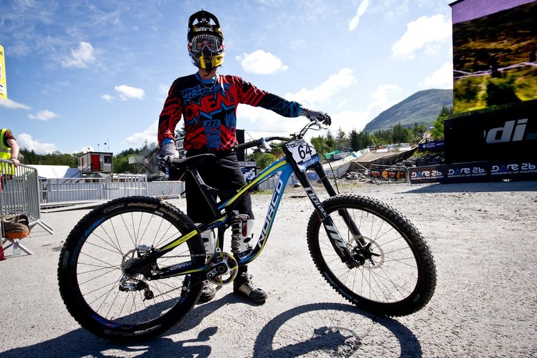 Ben Reid's 650B Norco Aurum Prototype - 24 Pro DH BIkes from Fort William World Cup - Mountain Biking Pictures - Vital MTB
