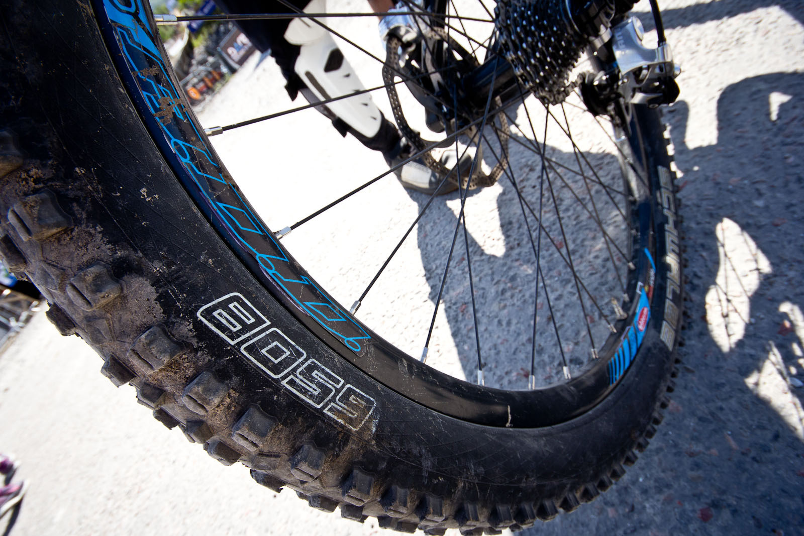 Ben Reid's 650B Schwalbe Rubber - 24 Pro DH BIkes from Fort William World Cup - Mountain Biking Pictures - Vital MTB