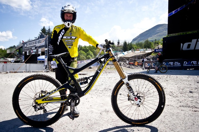 Marc Beaumont's GT Fury - 24 Pro DH BIkes from Fort William World Cup - Mountain Biking Pictures - Vital MTB