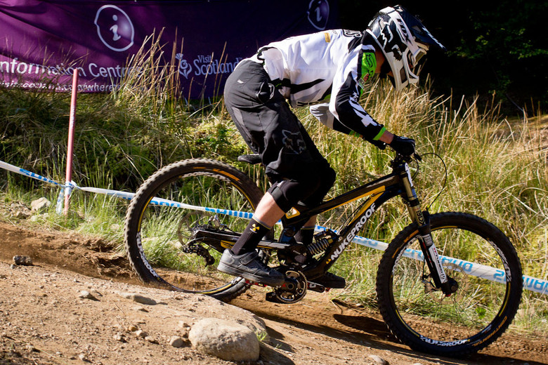 Nukeproof Pulse G-Out at Fort William - G-Out Project: Fort William Scotland World Cup - Mountain Biking Pictures - Vital MTB