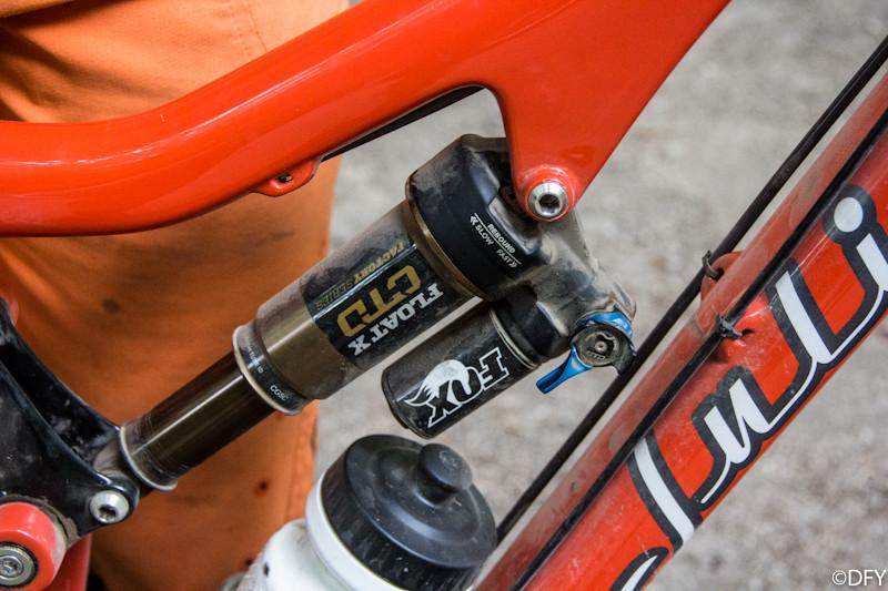 Fox Float X Rear Shock - PIT BITS: 2013 Oregon Enduro Series Ashland Mountain Challenge - Mountain Biking Pictures - Vital MTB
