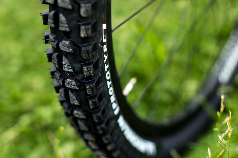 Nicolas Vouilloz on Prototype Michelin Tires for Val d'Allos Enduro World Series - Pit Bits: Enduro World Series Val d'Allos, France - Mountain Biking Pictures - Vital MTB
