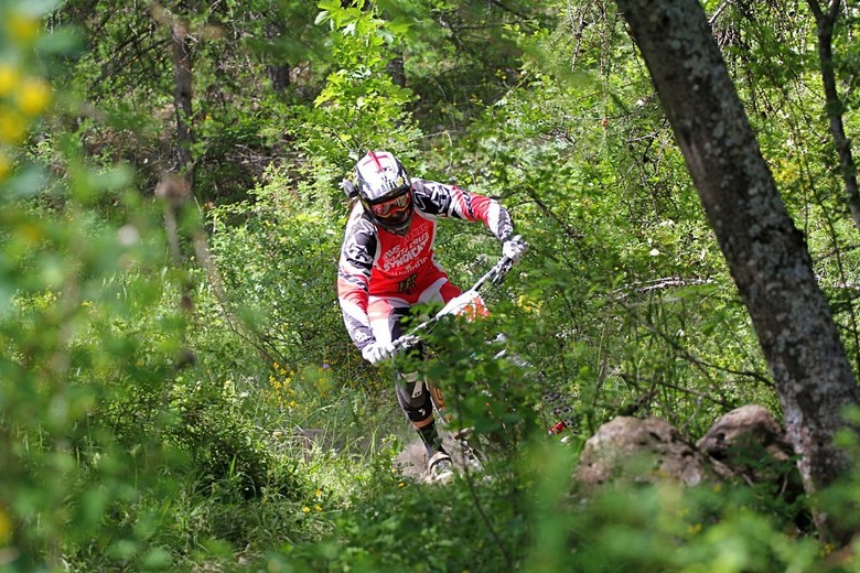 Steve Peat, Enduro World Series, Val d'Allos - Santa Cruz Syndicate at Enduro World Series Round 2, Val d'Allos - Mountain Biking Pictures - Vital MTB