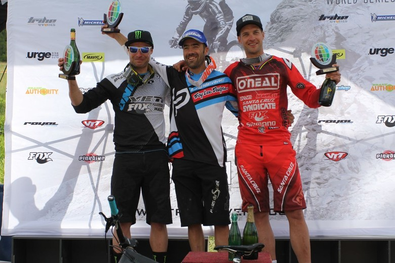 Enduro World Series Val d'Allos Podium - Santa Cruz Syndicate at Enduro World Series Round 2, Val d'Allos - Mountain Biking Pictures - Vital MTB