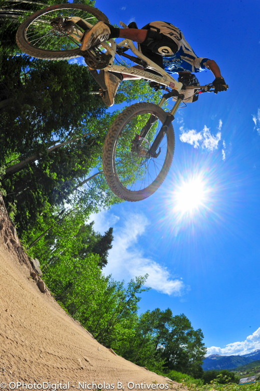 Bluebird Blasting at BME Crested Butte - Big Mountain Enduro Crested Butte Photo Gallery - Mountain Biking Pictures - Vital MTB