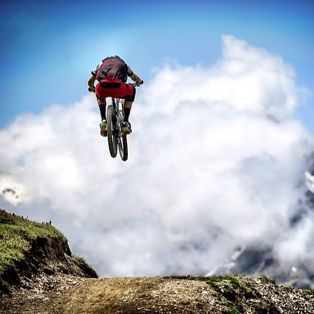 @svenmartinphoto Dan Atherton Blasting Before the Enduro World Series Les 2 Alpes - Enduro World Series Les 2 Alpes Pre-race Insight - Mountain Biking Pictures - Vital MTB