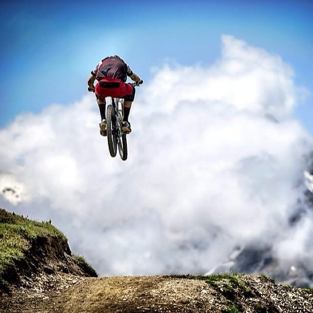@svenmartinphoto Dan Atherton Blasting Before the Enduro World Series Les 2 Alpes - Enduro World Series Les 2 Alpes Pre-race Insight - Mountain Biking Pictures - Vital MTB
