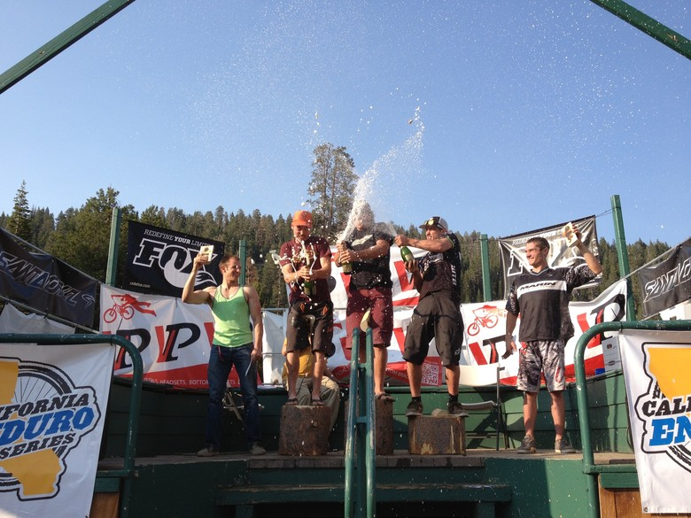 China Peak Enduro Pro Men's Podium - Race Report, Video & Photos from the China Peak Enduro presented by Santa Cruz and VP Components - Mountain Biking Pictures - Vital MTB