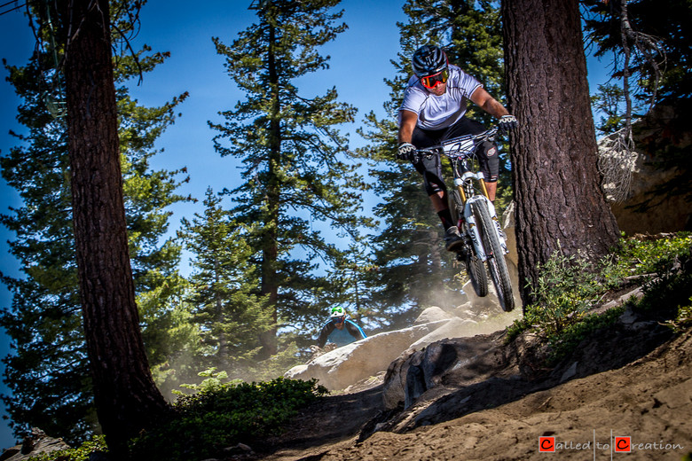 Craig Harvey, Middle of Stage 1 - Race Report, Video & Photos from the China Peak Enduro presented by Santa Cruz and VP Components - Mountain Biking Pictures - Vital MTB
