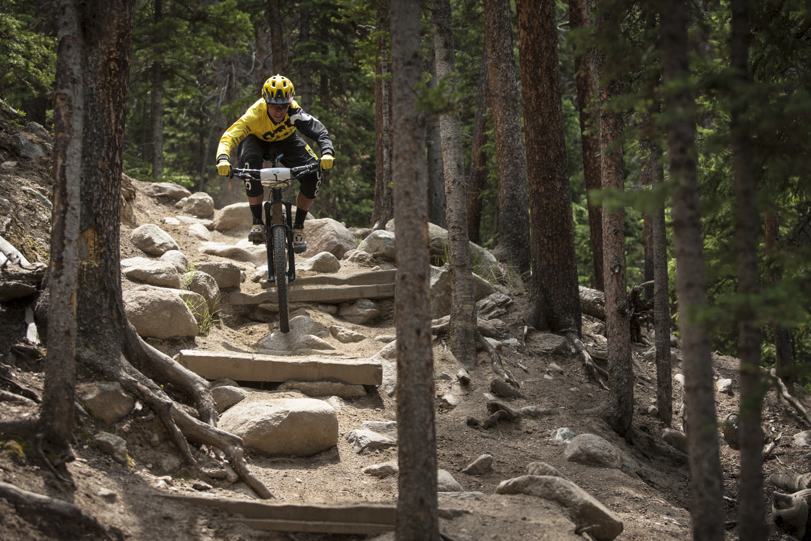 Nate Hills, 3rd Place at the Keystone Big Mountain Enduro - Photos, Videos from the Keystone Big Mountain Enduro, Part of the North American Enduro Tour - Mountain Biking Pictures - Vital MTB
