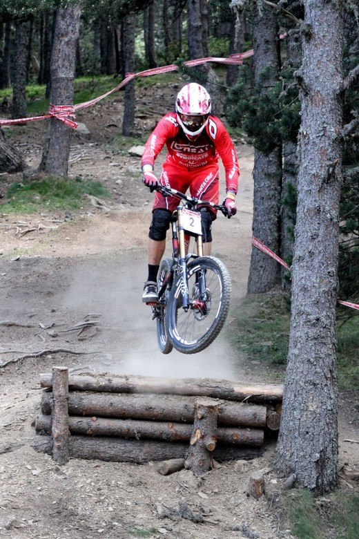 Greg Minnaar Wins Andorra World Cup Warm Up Race - Catalan Cup - Greg Minnaar Wins Andorra World Cup Warm Up Race - Catalan Cup - Mountain Biking Pictures - Vital MTB