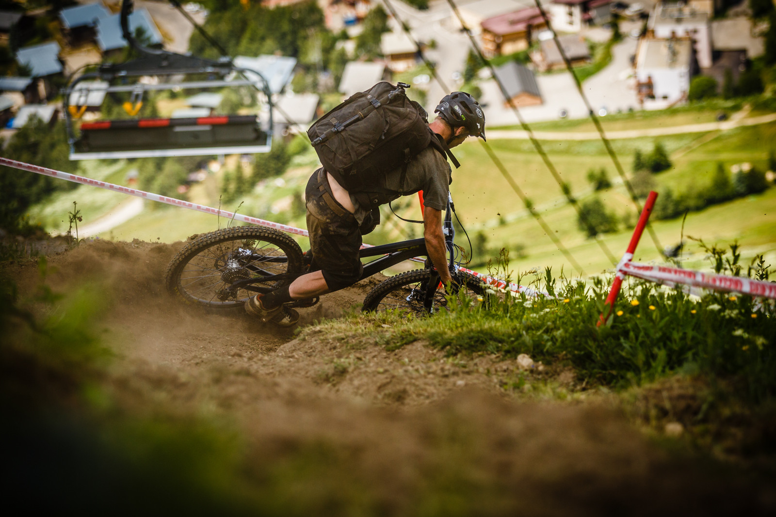 Vital Media DH at Crankworx L2A - Crankworx L2A - Air Downhill Photo Action - Mountain Biking Pictures - Vital MTB
