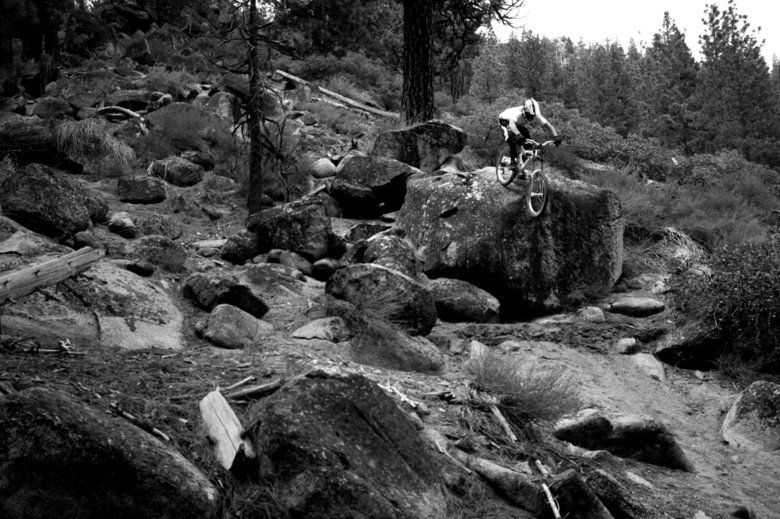 Cam Zink, DH Shoot for New World Disorder, 2006 - Cam Zink, Pro Rider Photo Gallery - Mountain Biking Pictures - Vital MTB