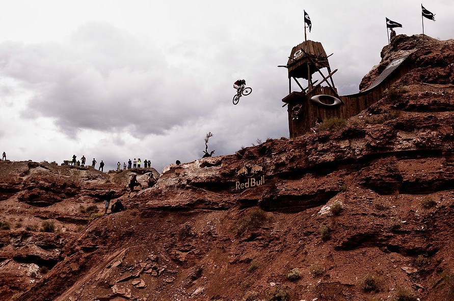 Cam Zink, Pro Rider Photo Gallery, Red Bull Rampage 360 Drop, 2010 - Cam Zink, Pro Rider Photo Gallery - Mountain Biking Pictures - Vital MTB
