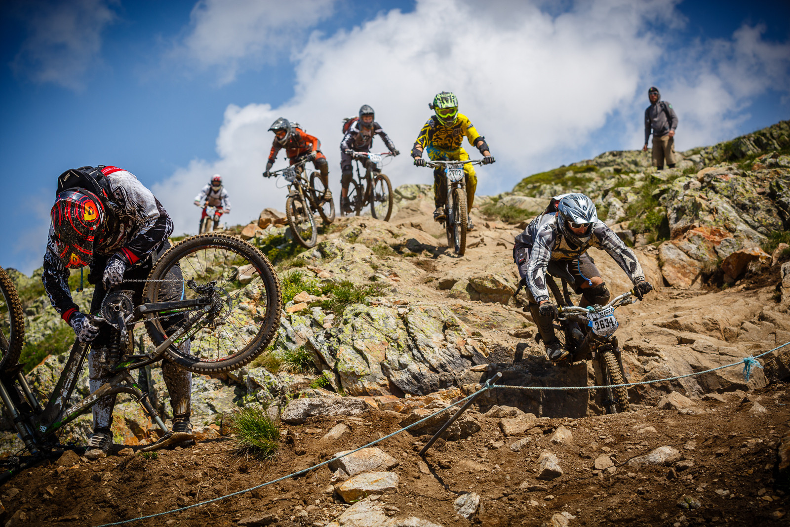 Mega Line Options at Megavalanche - 39 Megavalanche Mayhem Photos - Mountain Biking Pictures - Vital MTB