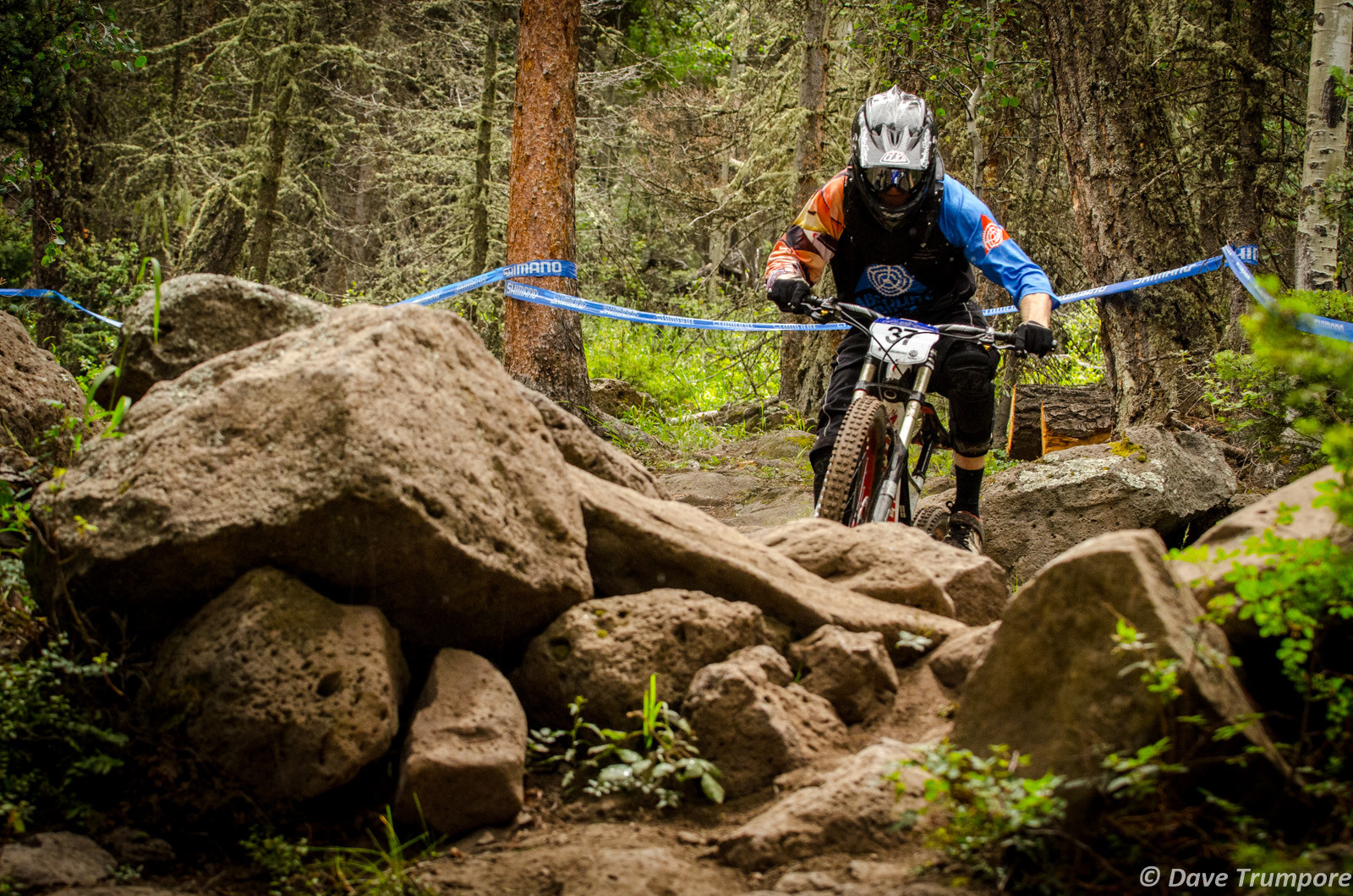 Classic Angel Fire Rocks - 2013 U.S. National Championship Downhill Qualifying and Dual Slalom Photos - Mountain Biking Pictures - Vital MTB