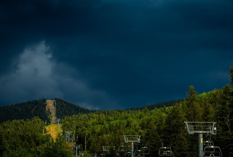 Dark Skies at U.S. National Champs at Angel Fire - U.S. National Championship Downhill Finals Photos - Mountain Biking Pictures - Vital MTB