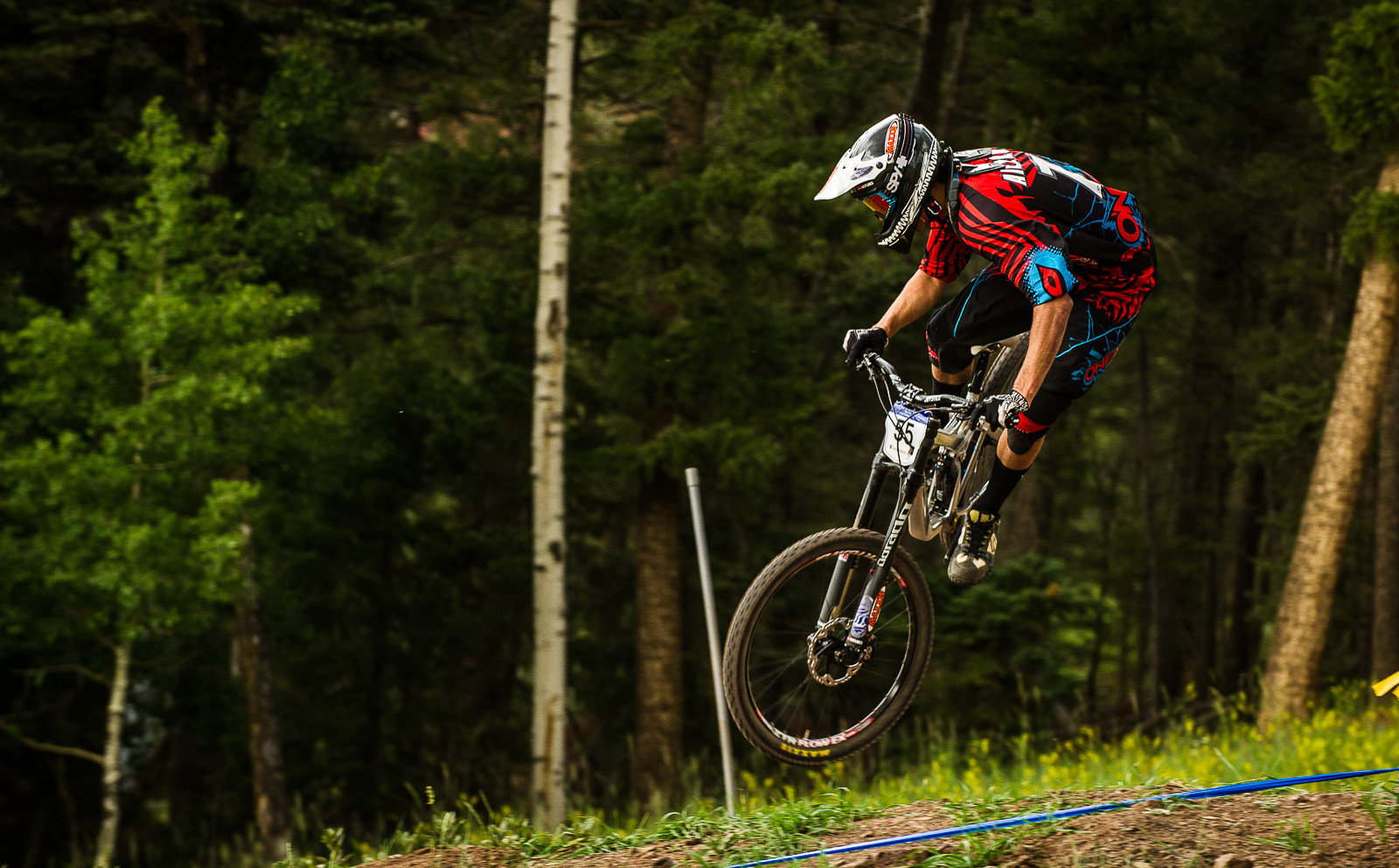 Kevin Aiello, 4th Place, U.S. National Championships Downhill - U.S. National Championship Downhill Finals Photos - Mountain Biking Pictures - Vital MTB