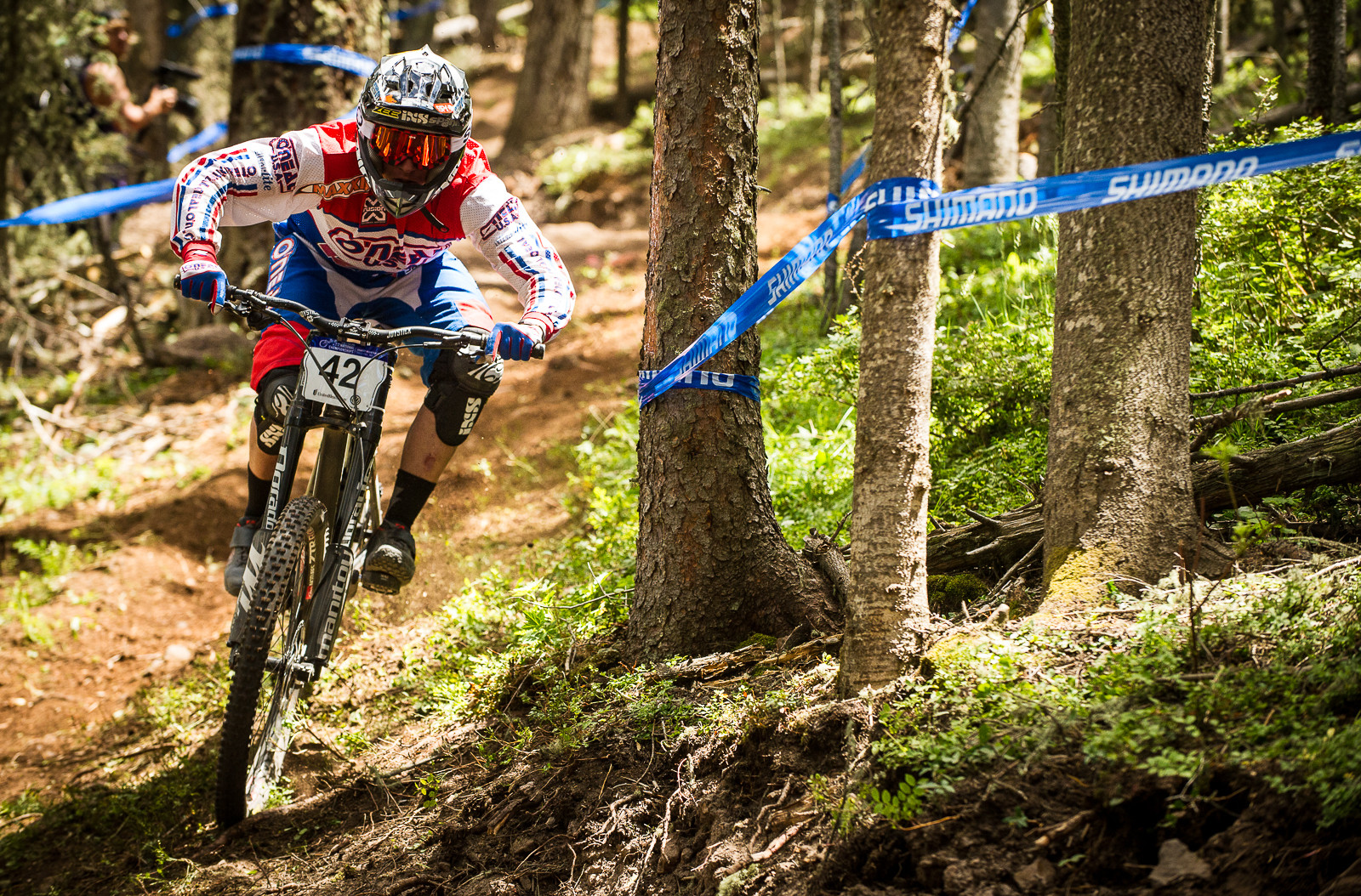Logan Binggeli, 2nd Place, U.S. National Championships DH - U.S. National Championship Downhill Finals Photos - Mountain Biking Pictures - Vital MTB