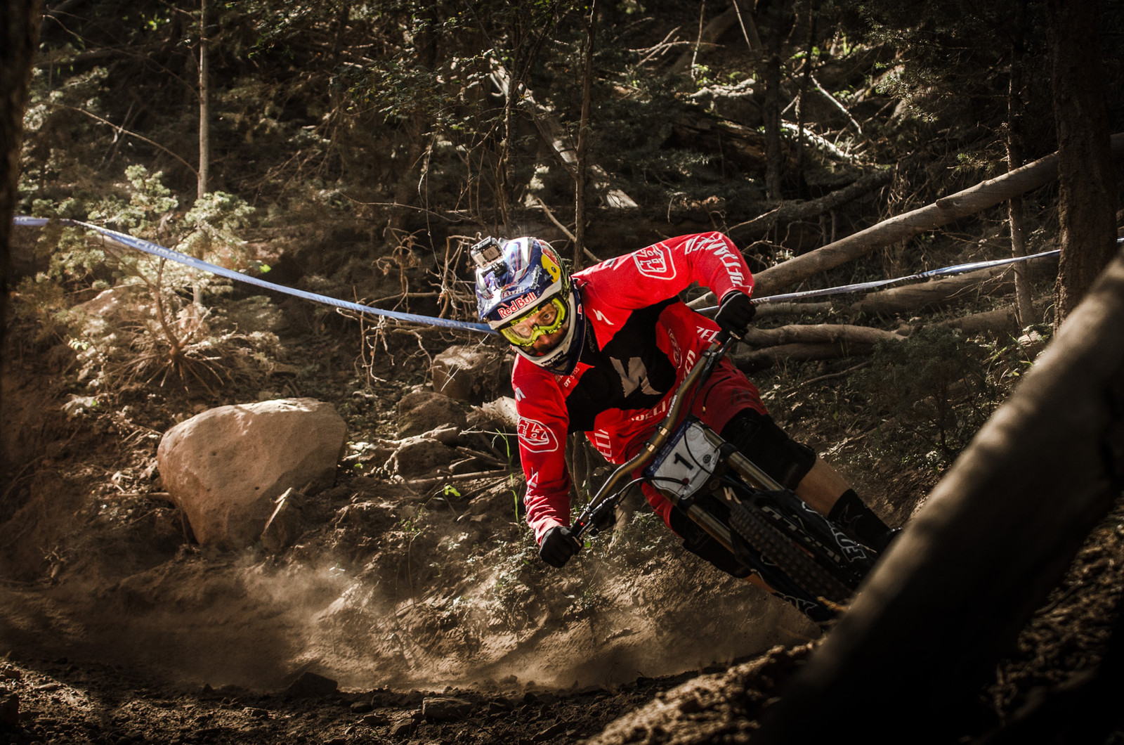 National Champs DH Race Gallery - Aaron Gwin on his Way to Victory - U.S. National Championship Downhill Finals Photos - Mountain Biking Pictures - Vital MTB