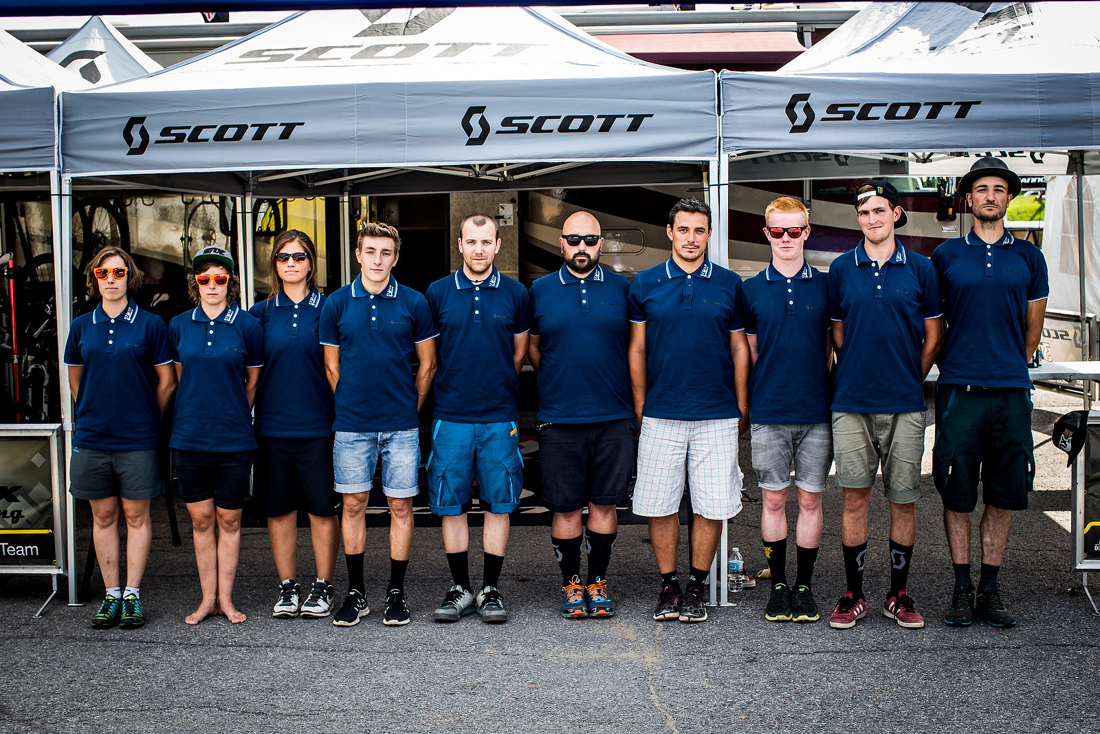 Casual Wednesday for GSTAAD Scott at Mont Sainte Anne - PIT BITS, Track Walk - It's On at Mont Sainte Anne World Cup - Mountain Biking Pictures - Vital MTB