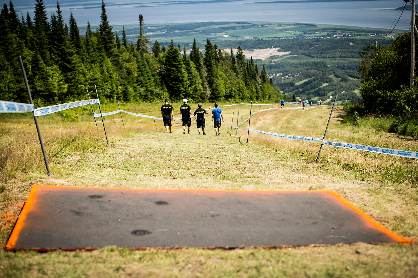 A Faster, Smoother Mont Sainte Anne World Cup DH Course - PIT BITS, Track Walk - It's On at Mont Sainte Anne World Cup - Mountain Biking Pictures - Vital MTB